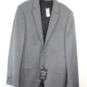 Express Fitted Producer Modern Fit Sport Coat